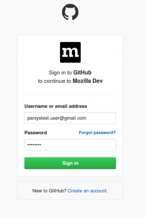 Mozillians - add github credentials.png