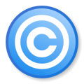 Ambox copyright blue.png
