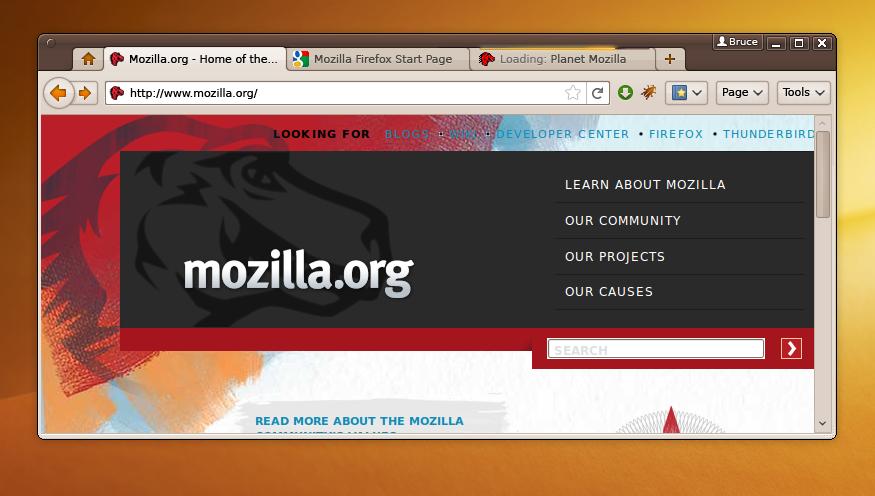 Firefox 4 Gnome