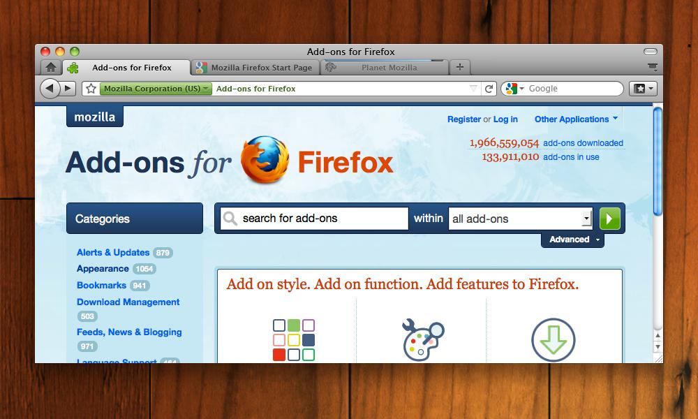 Firefox Mac Os - фото 7