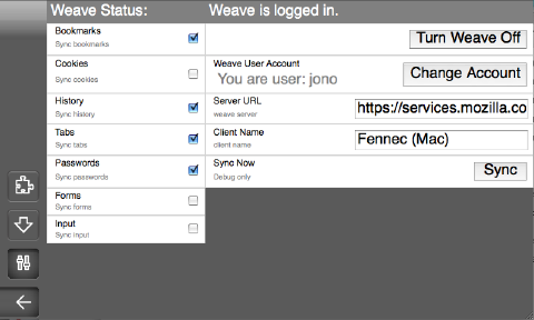 Weave prefs page.png