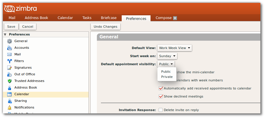 User:Ckoehler/How to Share Your Zimbra Calendar - MozillaWiki