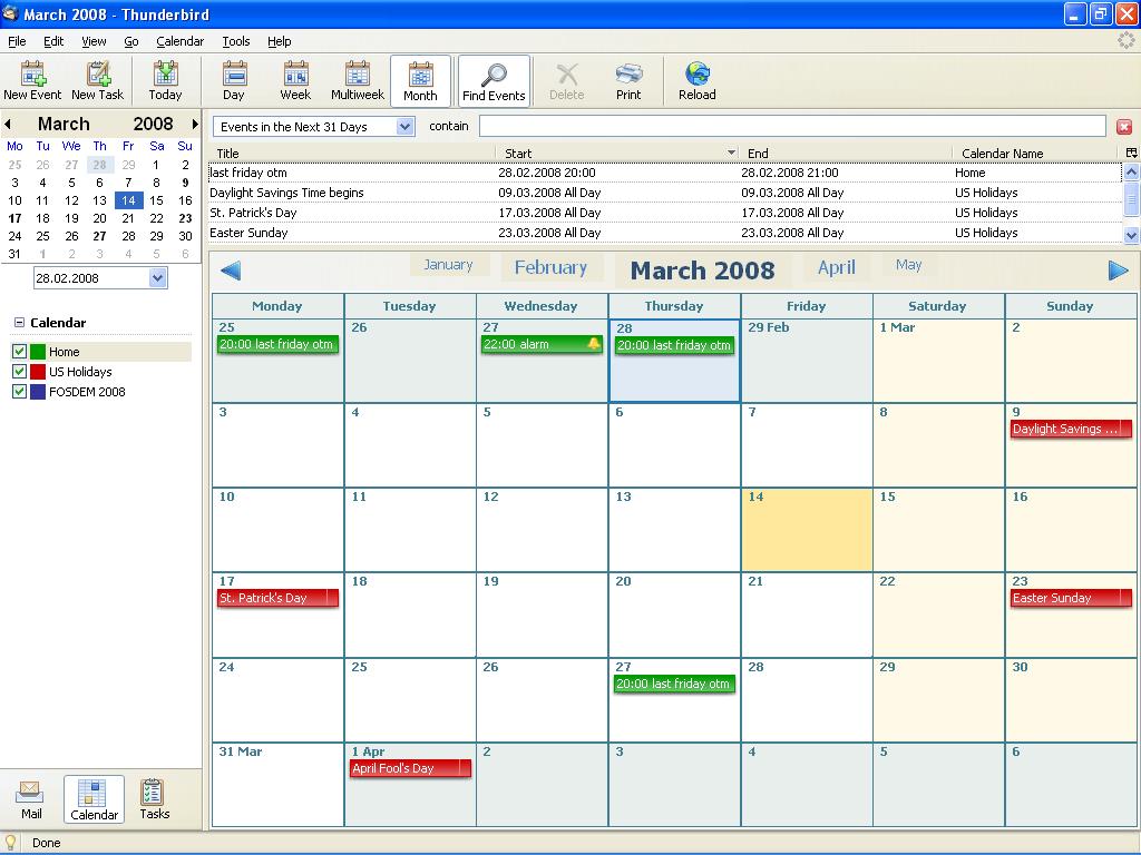 Calendar:Lightning:Screenshots - MozillaWiki