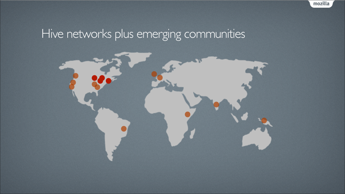 Hive Networks plus emerging communitys