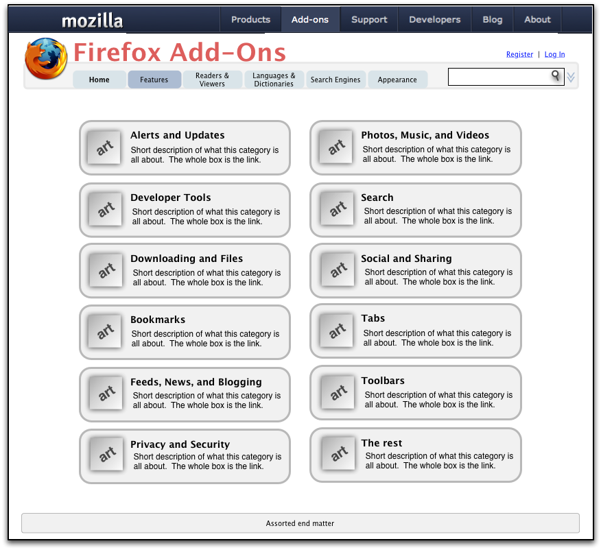 how to add more than one homepge mozilla
