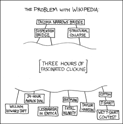 XKCD #214: The Problem with Wikipedia