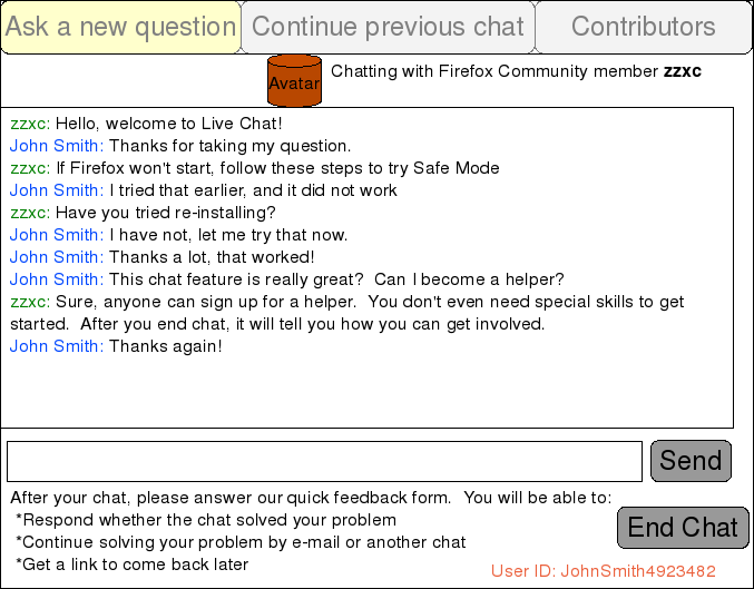 support live chat web client prd mozillawiki. Black Bedroom Furniture Sets. Home Design Ideas