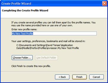 Thunderbird/support/profile - MozillaWiki