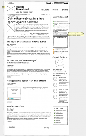 Mozilla Drumbeat - Projects Page Wireframe -- version 4.0.png