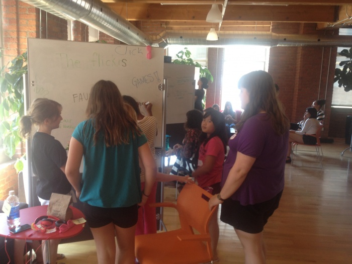 Girls Learning Code -- July 2013.JPG