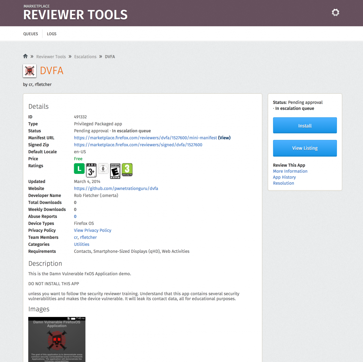 Marketplace Reviewers Apps Guide Secreviewtraining Mozillawiki