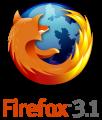 [ nuovo logo di Firefox 3.1 ]