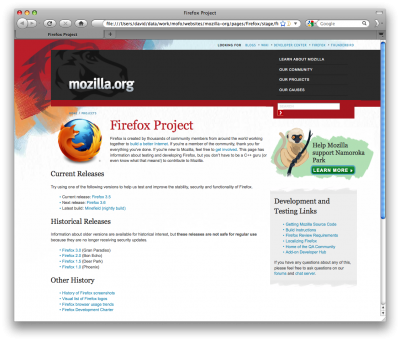 Firefox project page.png